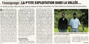 Article Paysan Tarnais